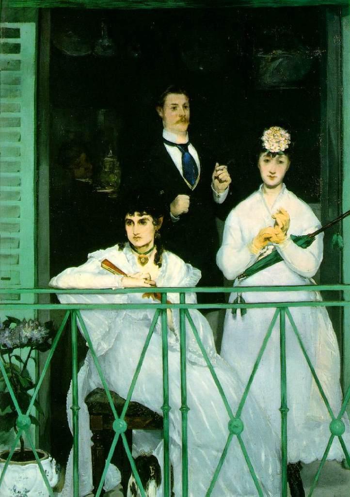 Manet.balcony