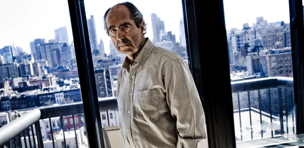 Author Philip Roth at this UWS home