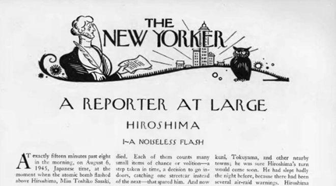 70 años de 'Hiroshima', de JohnHersey