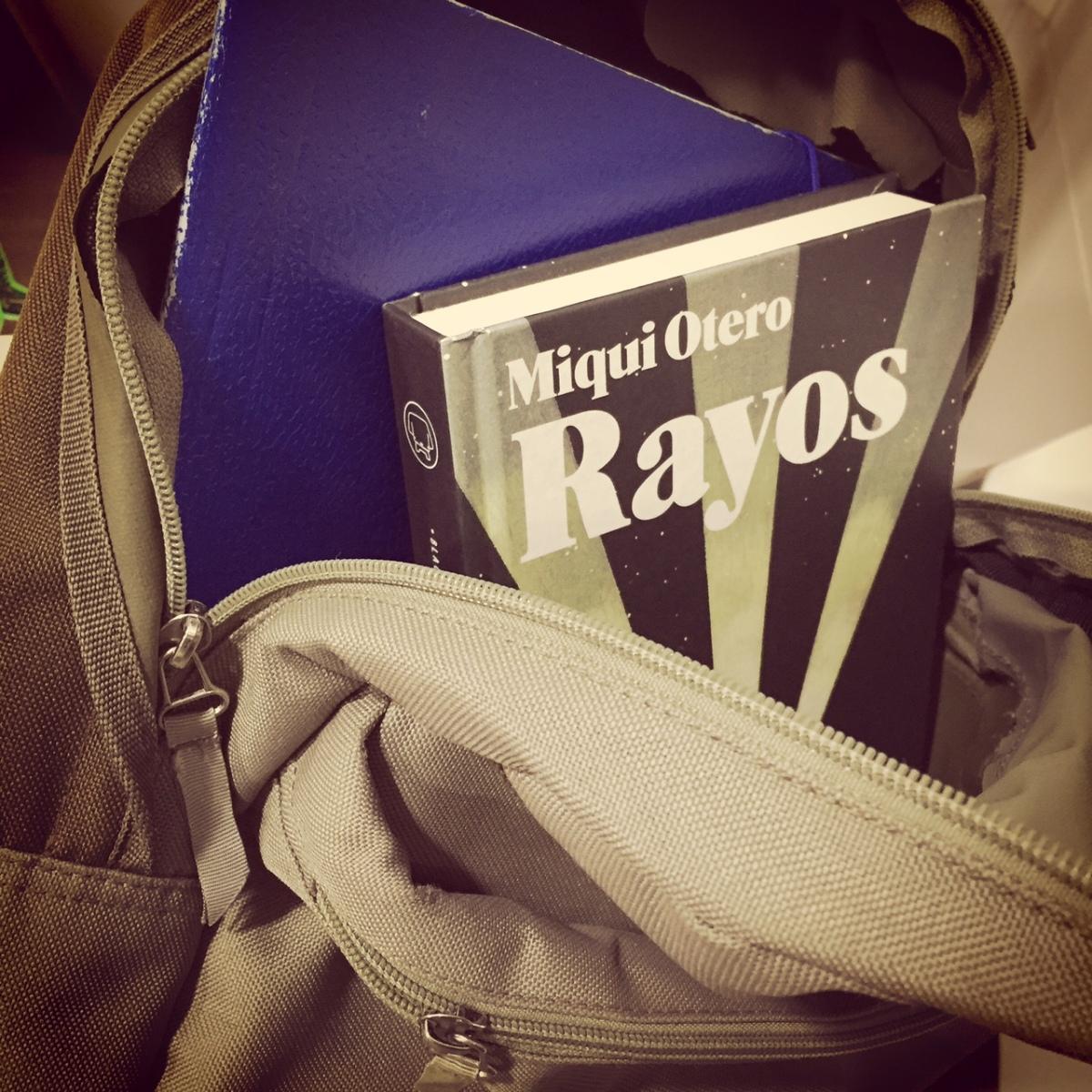 'Rayos' (Blackie Books), MiquiOtero